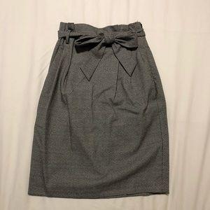 H&M Paper Bag Skirt